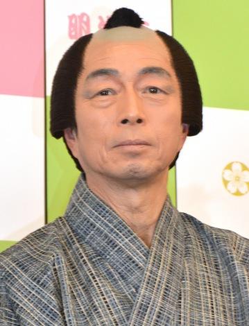 明治座3月『かあちゃん』ゲネプロ前囲み取材に出席した中村雅俊 (C)ORICON NewS inc.