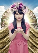 ももいろクローバーZの百田夏菜子(4thアルバム『白金の夜明け』ビジュアル)