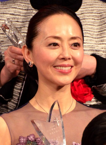 『第23回読売演劇大賞』贈賞式に出席した熊谷真実