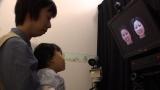 人見知りで泣く原因を探る科学実験の様子(C)NHK