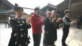 3月7日放送の『お坊さんバラエティ ぶっちゃけ寺』は出雲大社。女優の室井滋、太田光らが参拝(C)テレビ朝日