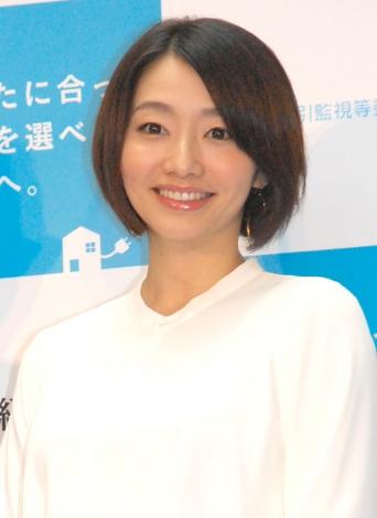『電力自由化キャラバン』PRイベントに出席した眞鍋かをり (C)ORICON NewS inc.