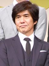 映画『64-ロクヨン-前編/後編』完成報告会見に出席した佐藤浩市 (C)ORICON NewS inc.