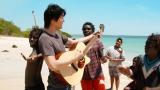 オーストラリアの先住民・アボリジニのヨルング族の皆さんとも音楽で交流(C)NHK