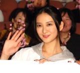 ドラマ『フラジャイル』第8話先行上映会後の舞台あいさつに出席した武井咲(C)ORICON NewS inc.