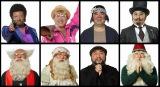 塚地武雅が演じる7人の妄想キャラクターが解禁。左上から時計回りに、麻薬売人、イヤン=ヤッケ、親方、ドダリー卿、妖怪もどき、神父、女装したダッフンヌ神父、ダッフンヌ神父(C)2016 フジテレビジョン 東宝 集英社 (C)森本梢子/集英社
