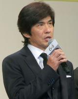 映画『64-ロクヨン-前編』完成披露試写会舞台あいさつに出席した佐藤浩市 (C)ORICON NewS inc.