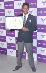関東第一高等学校を卒業したオコエ瑠偉選手 (C)ORICON NewS inc.