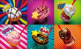 ミスタードーナツからポップ&カラフルな一口サイズドーナツ『キュートポップ』が新発売