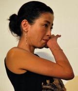 7年ぶり主演映画『紙の月』公開初日。監督から感謝の手紙が送られ、涙を拭う宮沢りえ (C)ORICON NewS inc.