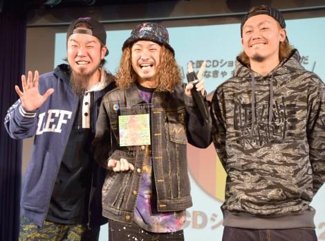 『第8回CDショップ大賞』準大賞を受賞したWANIMA (C)ORICON NewS inc.
