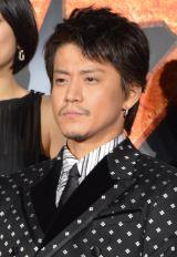 映画『テラフォーマーズ』完成披露舞台あいさつに出席した小栗旬 (C)ORICON NewS inc.