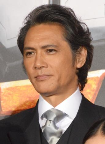 映画『テラフォーマーズ』完成披露舞台あいさつに出席した加藤雅也 (C)ORICON NewS inc.