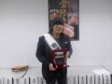 茨城県の常陸牛ブランドの宣伝部長に任命された大仁田厚