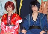 舞台への意気込みを語った(左から)新垣里沙、松下優也 (C)ORICON NewS inc.
