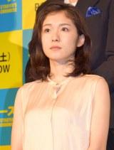 """""""膝年齢""""を心配した松岡茉優 (C)ORICON NewS inc."""