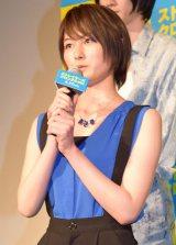 映画『ストレイヤーズ・クロニクル』のキックオフイベントに出席した高月彩良 (C)ORICON NewS inc.