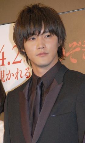 映画『のぞきめ』(4月2日公開)完成披露上映会に出席した白石隼也 (C)ORICON NewS inc.