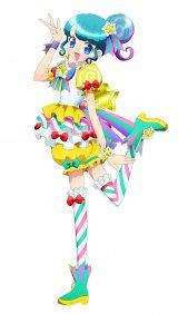 テレビアニメ『プリパラ』に登場する新キャラクター、ぴのん(C)T-ARTS/syn Sophia/テレビ東京/PP3製作委員会