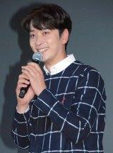 映画『忘れ雪』の特別上映イベントで舞台あいさつに登壇した2PM・チャンソン (C)ORICON NewS inc.