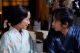 3月13日放送、第10回「妙手」より。父・昌幸の使者として越後・上杉景勝のもとへ向かうことを梅に告げた信繁は…(C)NHK