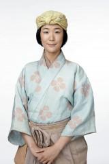 大河ドラマ『真田丸』で女優の黒木華が演じる梅は、信繁の最初の妻となる女性。信繁の子を懐妊し、側室として嫁入りする(C)NHK