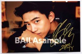 =2PM・テギョン=女性ファッション誌『BAILA』(集英社)5月号で実施される写真プレゼント企画のサンプル画像(撮影/柴田文子)