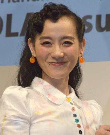『minne ハンドメイド大賞 2016』授賞式にゲスト審査員として登壇した篠原ともえ (C)ORICON NewS inc.