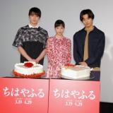 デコケーキ対決も!=映画『ちはやふる』ホワイトデーイベント (C)ORICON NewS inc.