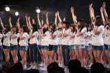 SKE48劇場で行われた『東日本大震災復興支援特別公演』(C)AKS