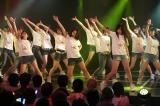 SKE48劇場で行われた『東日本大震災復興支援特別公演』で新曲「チキンLINE」披露(C)AKS