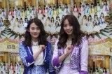 (左から)6月でのグループ卒業を発表したSUPER☆GiRLSの勝田梨乃、荒井玲良