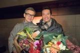 『お義父さんと呼ばせて』クランクアップ (左から)渡部篤郎、遠藤憲一  (C)関西テレビ