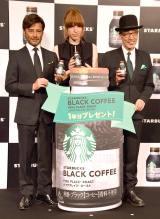 (左から)ショーン・マクアードル・川上、IVAN、テリー伊藤 (C)ORICON NewS inc.