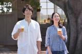 サントリー『オールフリー』新TVCMに登場した佐々木蔵之介と黒木華
