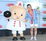 エースコック『わかめラーメン』新テレビCM発表会に出席した柳沢慎吾 (C)ORICON NewS inc.