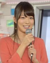最年少で『めざましテレビ』の7代目お天気キャスターに就任する阿部華也子 (C)ORICON NewS inc.
