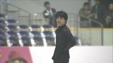 2016年1月、大阪で開催されたニューイヤー・オン・アイスでの練習風景(C)MBS