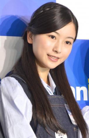 『アニメイト30周年プロジェクト』記者会見に出席した乃木坂46の佐々木琴子 (C)ORICON NewS inc.