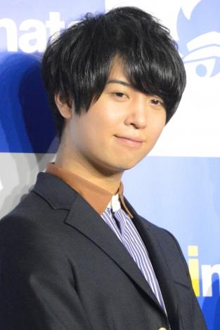 『アニメイト30周年プロジェクト』記者会見に出席した斉藤壮馬 (C)ORICON NewS inc.