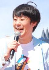 『グッジョバ!! オープン記念 初乗車ツアー』プレスお披露目イベントに出席した佐久間一行 (C)ORICON NewS inc.