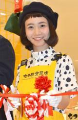 新宿ミロードロフトのテープカットイベントに出席した三戸なつめ (C)ORICON NewS inc.