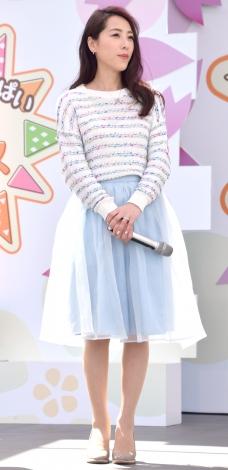 『できた!がいっぱい ママサカス2016』オープニングセレモニーに出席した矢沢心 (C)ORICON NewS inc.