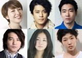 映画『追憶』に出演する(上段左から)長澤まさみ、小栗旬、柄本佑、(下段左から)吉岡秀隆、木村文乃、安藤サクラ