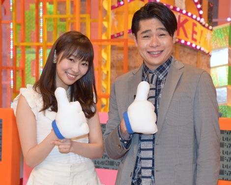 (左から)HKT48の指原莉乃、平成ノブシコブシの吉村崇 (C)ORICON NewS inc.
