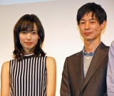 「SPEC」シリーズ以来、初めて共演した戸田恵梨香と加瀬亮 (C)ORICON NewS inc