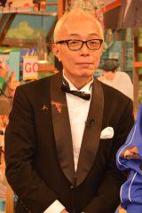 日本テレビ系バラエティ『世界まる見え!テレビ特捜部』収録後、取材に応じた所ジョージ