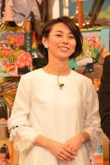 日本テレビ系バラエティ『世界まる見え!テレビ特捜部』収録後、取材に応じた杉野真実アナウンサー