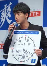 ロッテ『爽』の新CMキャラクター発表会に出席した竹内涼真 (C)ORICON NewS inc.