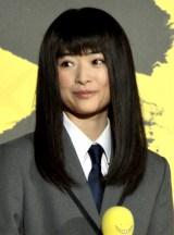映画『暗殺教室-卒業編-』のイベントに出席した優希美青 (C)ORICON NewS inc.